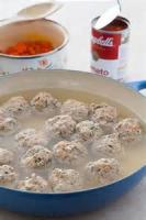 Soups - Cheese-meatball Soup