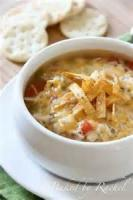 Soups - Chicken -  Chicken Tortilla Soup Recipes By Becky