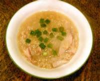 Soups - Chicken -  Chinese Chicken And Rice Porridge (congee)