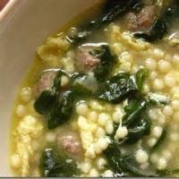 Soups - Italian -  Italian Wedding Soup By Becky