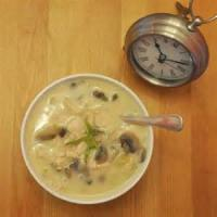 Soups - Sherried Ham And Mushroom Soup