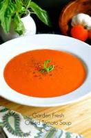 Soups - Tomato -  Garden Tomato Soup