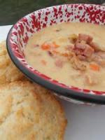 Soups - Ham -  Cauliflower Ham Chowder
