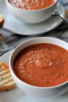 Soups - Creamy Cheese And Tomato Soup