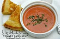 Soups - Tomato -  La Madeleines' Tomato Basil Soup
