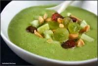 Soups - Lime Cucumber Soup With A Kick