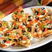 Southwestern - Appetizer -  Barbecued Chicken Nachos