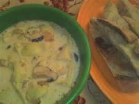 Soups - Artichoke Mushroom