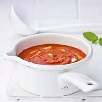 Soups - Cream Of Red Pepper Soup