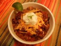 Southwestern - Black Bean Chili With Pork