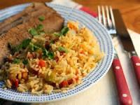 Southwestern - Spanish Rice And Beef Casserole