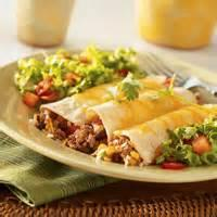 Southwestern - Enchiladas -  Beef And Rice Enchiladas