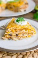 Southwestern - Chicken -  Baked Chicken Tortillas