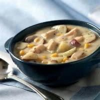 Soups - Turkey  -  Turkey Chowder