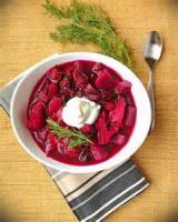 Soups - Vegetable -  Crockpot Borscht