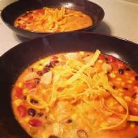 Soups - Tortilla -  Jenny's Three Bean Tortilla Soup