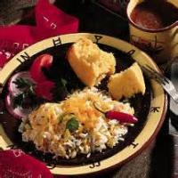Southwestern - Green Chile Cheese And Rice Bake