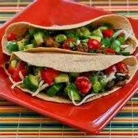 Southwestern - Taco -  Spicy Turkey Tacos