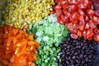 Southwestern - Salad -  Southwest Salad With Cilantro Dressing