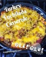Southwestern - Turkey Enchiladas