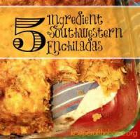 Southwestern - Enchiladas -  Three Cheese Enchiladas