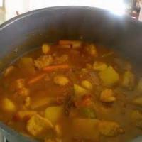 Southwestern - Pork -  Guisado De Puerco Con Tomatillos (pork Stew With Tomatillos)
