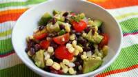 Southwestern - Salad -  Black Bean, Tomato And Avocado Salad