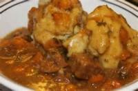 Stews - Beef -  Beef Stew With Apple Dumplings