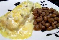 Southwestern - Enchiladas -  Cheese Enchiladas With Bean And Corn Chili