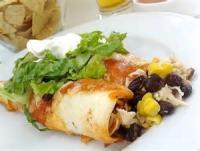 Southwestern - Enchiladas -  Potato-stuffed Enchiladas