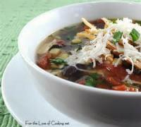 Southwestern - Soup -  Three Bean Tortilla Soup