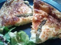 Vegetables - Asparagus Impossible Pie