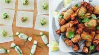Vegetables - Avocado -  Guacamole Bites