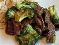 Vegetables - Beef Broccoli