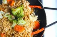 Vegetables - Broccoli -  Top Ramen With Chicken And Broccoli