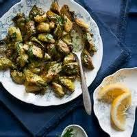 Vegetables - Brussels Sprouts -  Brussels Sprouts With Lemon-mustard Butter