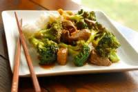 Vegetables - Beef With Broccoli