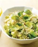 Vegetables - Brussels Sprouts -  Brussels Sprouts With Lemon Peel