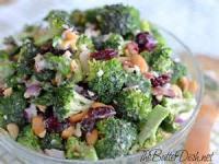 Vegetables - Broccoli -  Cranberry Broccoli Salad