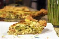 Vegetables - Asparagus -  Asparagus Bacon Quiche