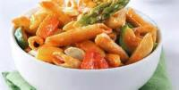 Vegetables - Asparagus With Fresh Tomato Sauce