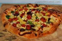 Vegetables - Mediterranean Pizza