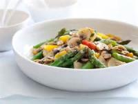 Vegetables - Asparagus -  Asparagus And Mushroom Saute