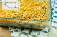 Vegetables - Broccoli Casserole