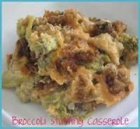 Vegetables - Broccoli Stuffing Casserole
