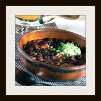 Stews - Vegetarian -  Bean Ragout With Cilantro-cornmeal Dumplings