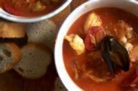 Stews - Seafood Stew With Tomatoes And Basil