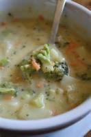 Vegetables - Broccoli -  Cheesy Broccoli Soup