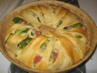 Vegetables - Broccoli Ham Ring