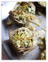 Vegetables - Artichoke -  Stuffed Artichoke